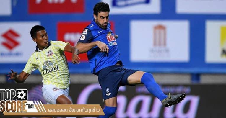 บีจี ปทุม ฟอร์มดีต่อเนื่องหลังเก็บชัยเหนือ สุพรรณบุรี ไปได้ 2-0